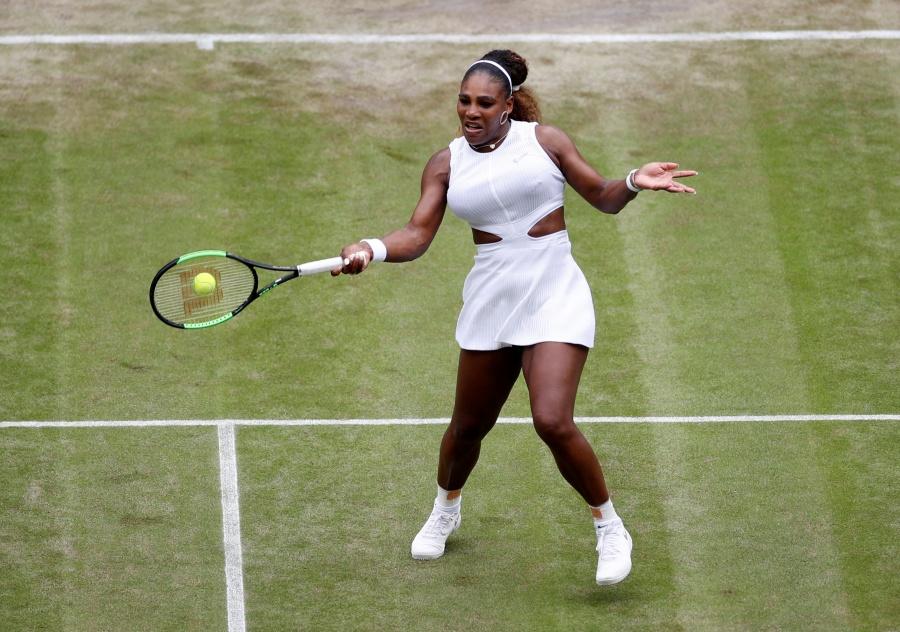 Serena Williams, gana a Julia Georges y clasifica a la cuarta ronda de Wimbledon