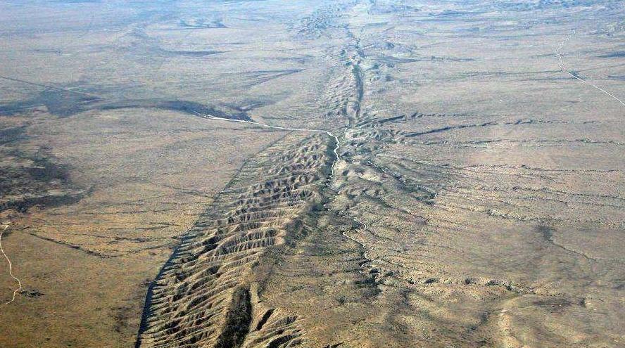 La falla de San Andrés, pone en alerta a California