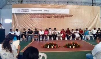 Pueblos indígenas de Hidalgo y Veracruz suman voces para la reforma constitucional sobre sus derechos