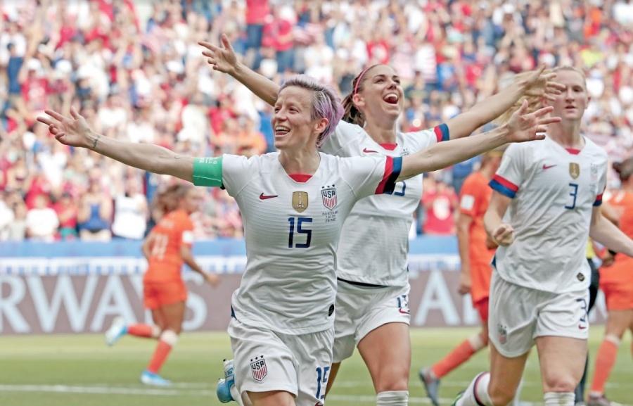 Femenil de EU alcanza su cuarto Campeonato del Mundo