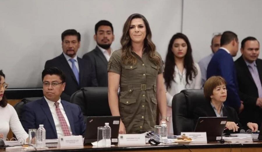 """Dice Ana Gabriela Guevara que no se pueden dar becas """"por berrinche"""