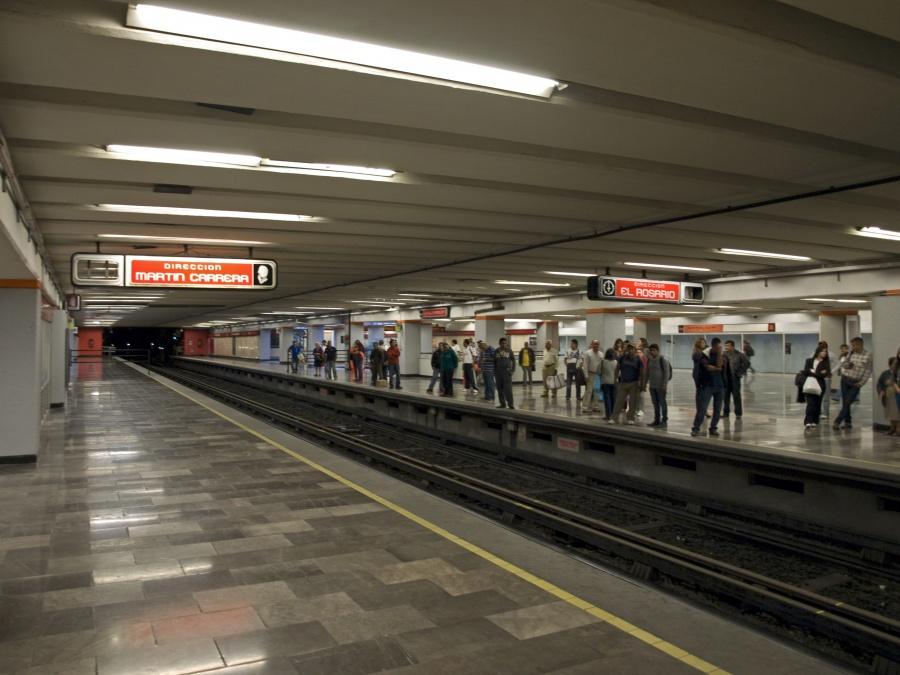 Metro suspende servicio en cuatro estaciones de la Línea 6