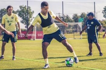 Giovani dos Santos, ya entrena con el América