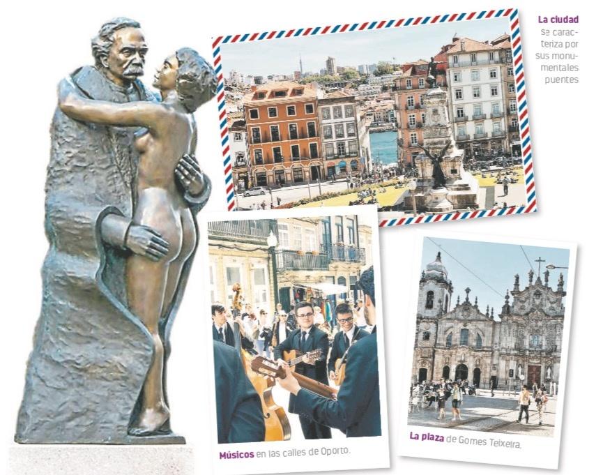 Tras la pista del romance furtivo de Camilo Castelo en Oporto