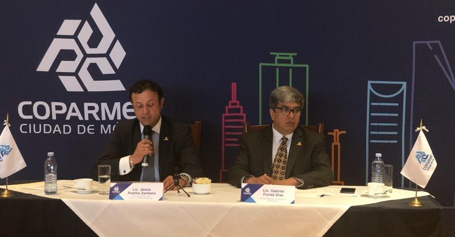 Reitera Coparmex CDMX a autoridades mantener certidumbre jurídica a inversiones