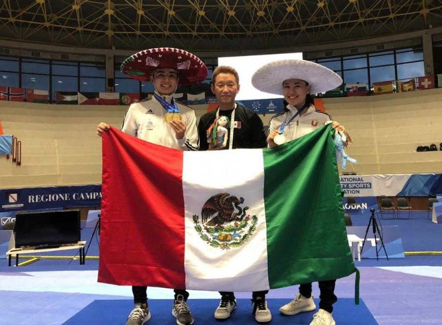 Orgullo del Taekwondo: Deportistas mexicanos regresan con medallas de bronce