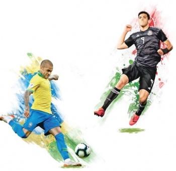 Tras Títulos, Brasil y México ascienden en Ranking de FIFA