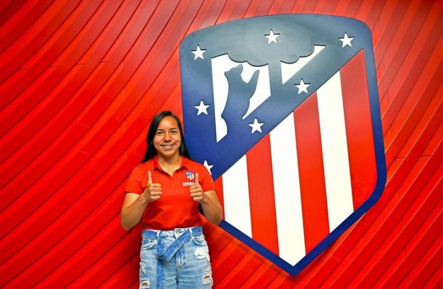 ¡Otra mexicana! Charlyn Corral es nueva jugadora del Atlético de Madrid
