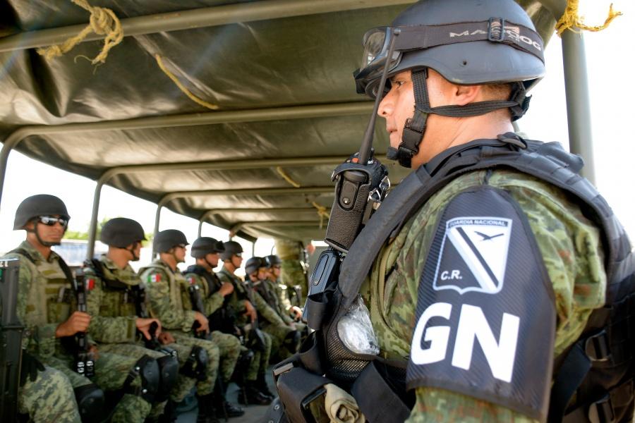 Arriban a Zacatecas mil 100 elementos de la Guardia Nacional