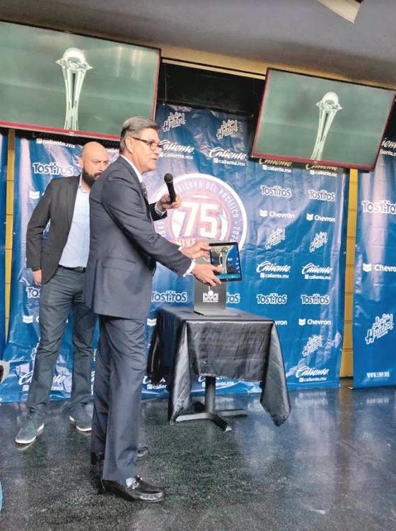 Liga Mexicana del Pacífico estrena Trofeo de Plata