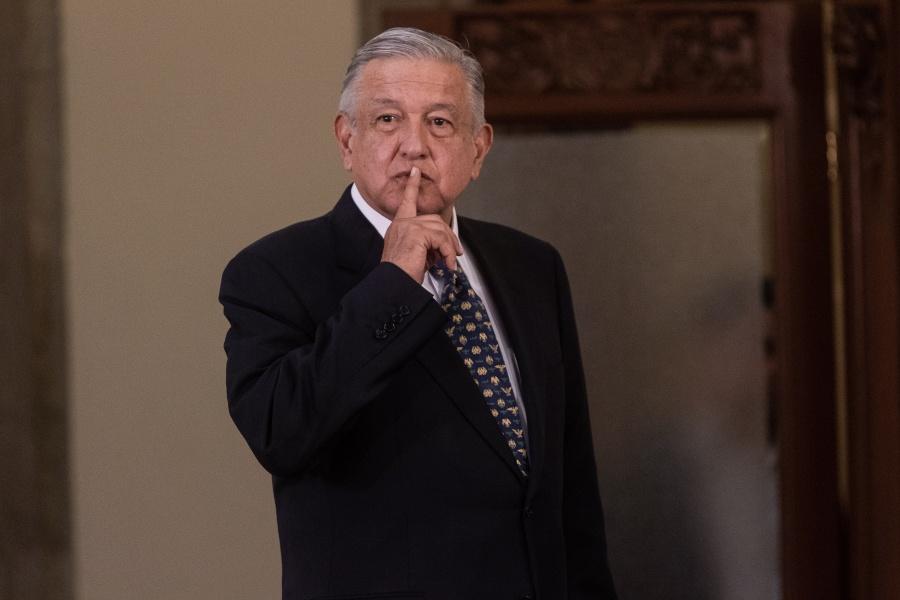 Denuncia contra Collado es asunto de la FGR: López Obrador