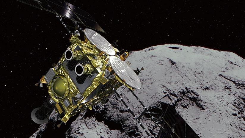 Sonda espacial japonesa busca recolectar muestras de asteroide Ryugu