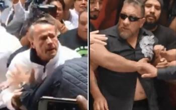 Carlos Trejo golpea con una botella la cara de Alfredo Adame