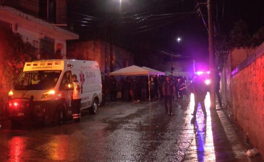 Suman siete fallecidos por deslave de cerro en Puebla