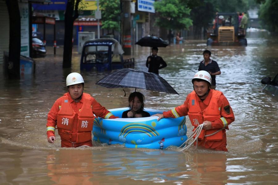 Lluvias dejan en China más de 280 mil afectados