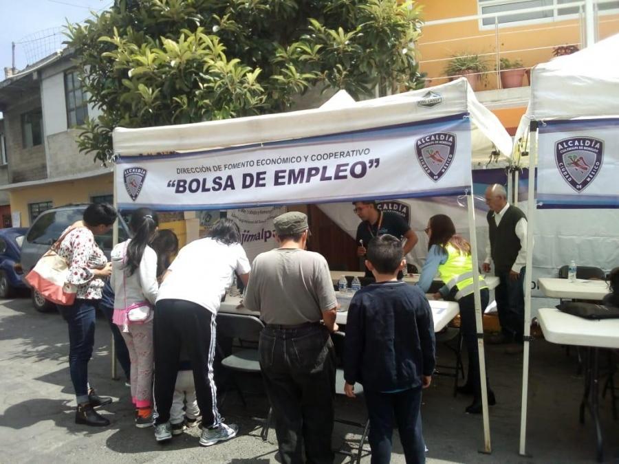 Cuajimalpa ha otorgado empleo a mil 911 personas