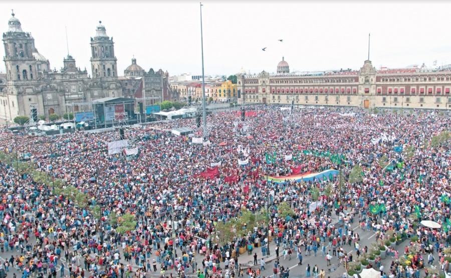 "Ordenan a INE investigar ""propaganda"" en AMLOfest"