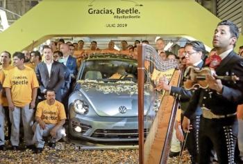 México se despide de Beetle, llega SUV Tarek