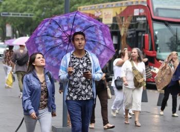 Se prevén lluvias y altas temperaturas en la mayor parte del país
