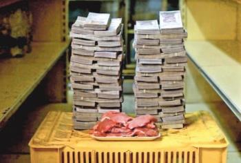 En Venezuela se necesitan 30 salarios para comer