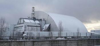 Estrenan nuevo domo en Chernobyl