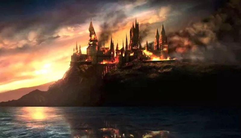 """Arde en llamas estudio de Warner Bros donde se filmó """"Harry Potter"""""""