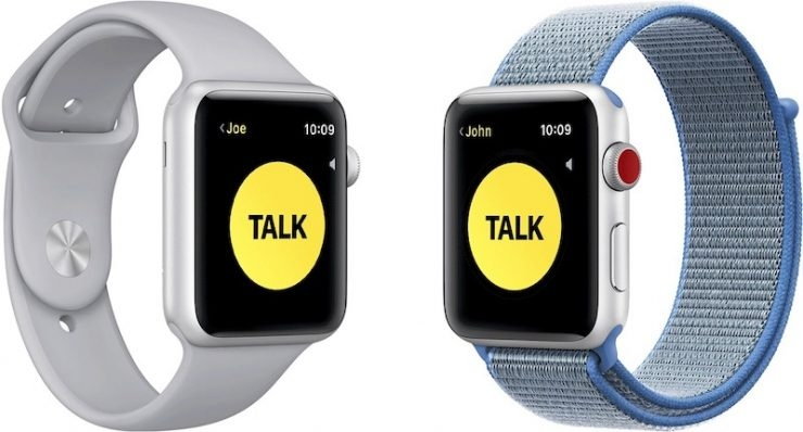 Apple desactiva el Walkie-Talkie del Watch por vulnerabilidades detectadas