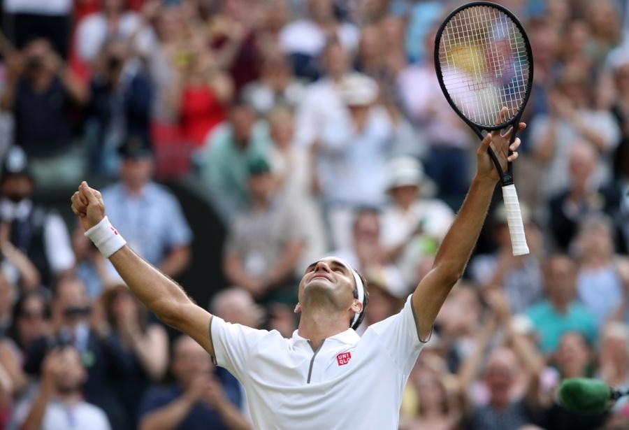 Federer vence a Nadal y se cita con Djokovic en la final de Wimbledon