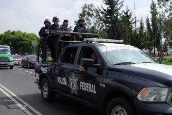 Alertan por sustracción de armas de base de Policía Federal