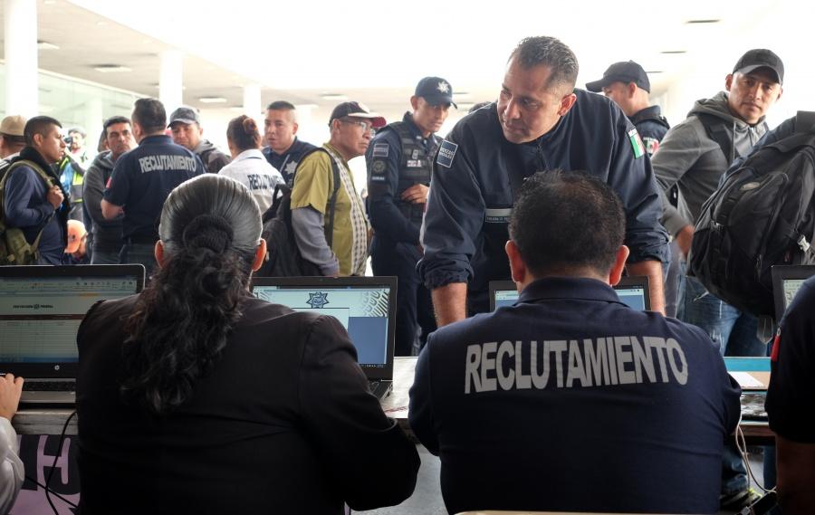 Suman 8 mil 753 policías atendidos por cambio a Guardia Nacional