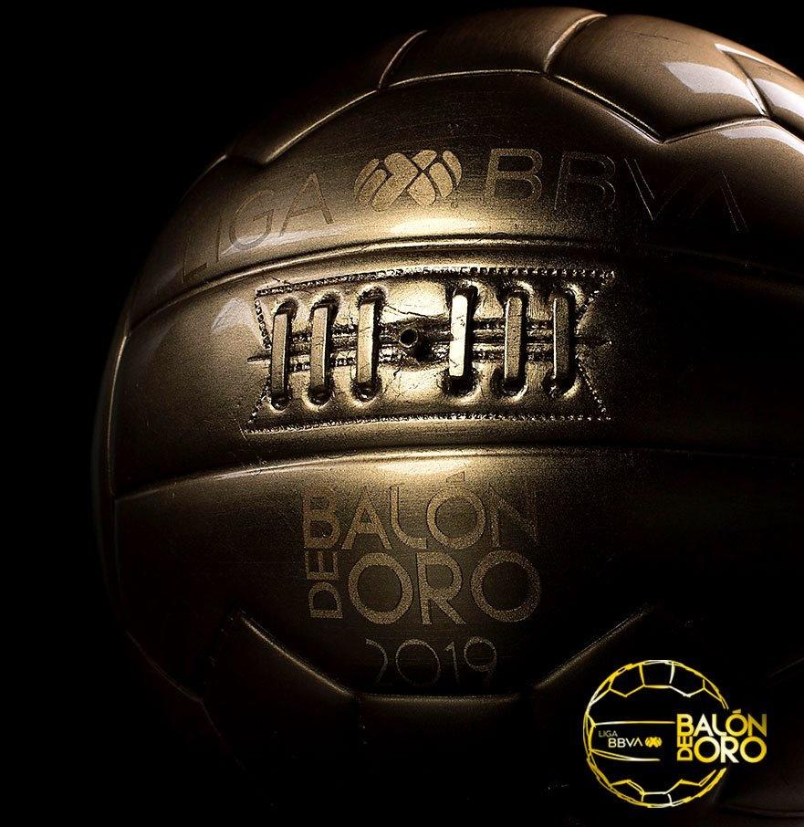 Estos son los nominados para el Balón de Oro 2019 de la Liga MX