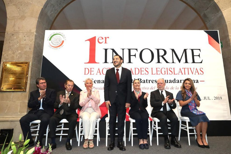 Se dice Martí Batres listo para mantener un segundo año al frente de la Mesa Directiva en el Senado
