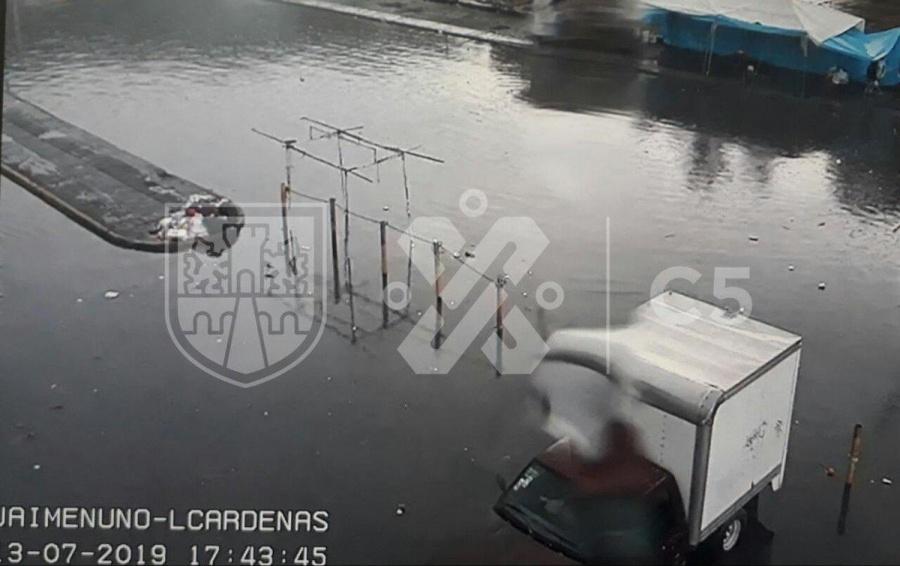 Inundaciones por lluvias en la GAM