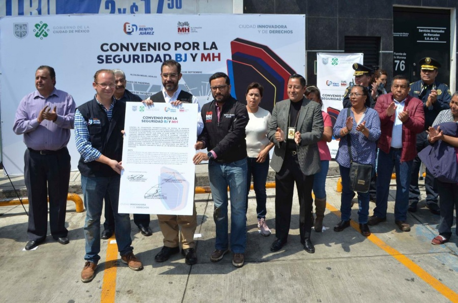Se fortalecerá la vigilancia en los limites de Benito Juárez y Miguel Hidalgo