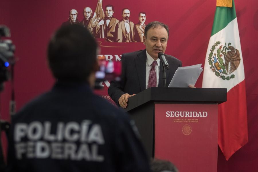 Policía Federal debe evolucionar para garantizar la paz: Alfonso Durazo