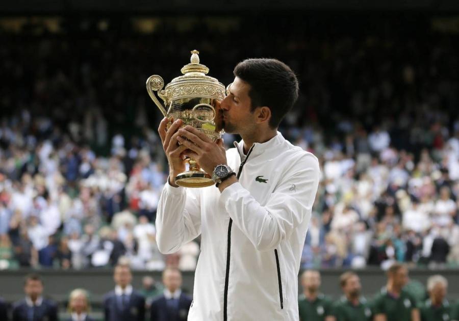 Djokovic impide que Federer logre su noveno título en Wimbledon 2019