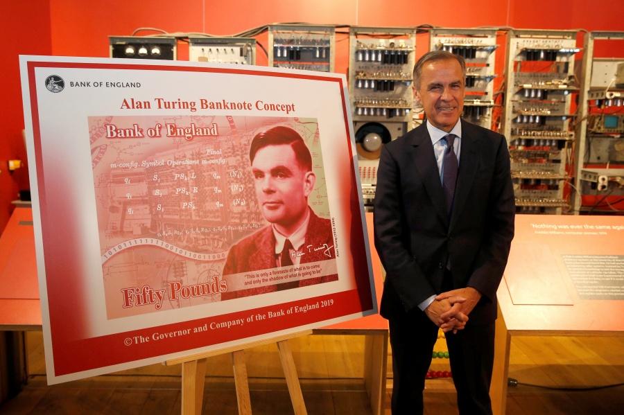 Alan Turing, quien descifró código nazi, es la imagen del nuevo billete de 50 libras