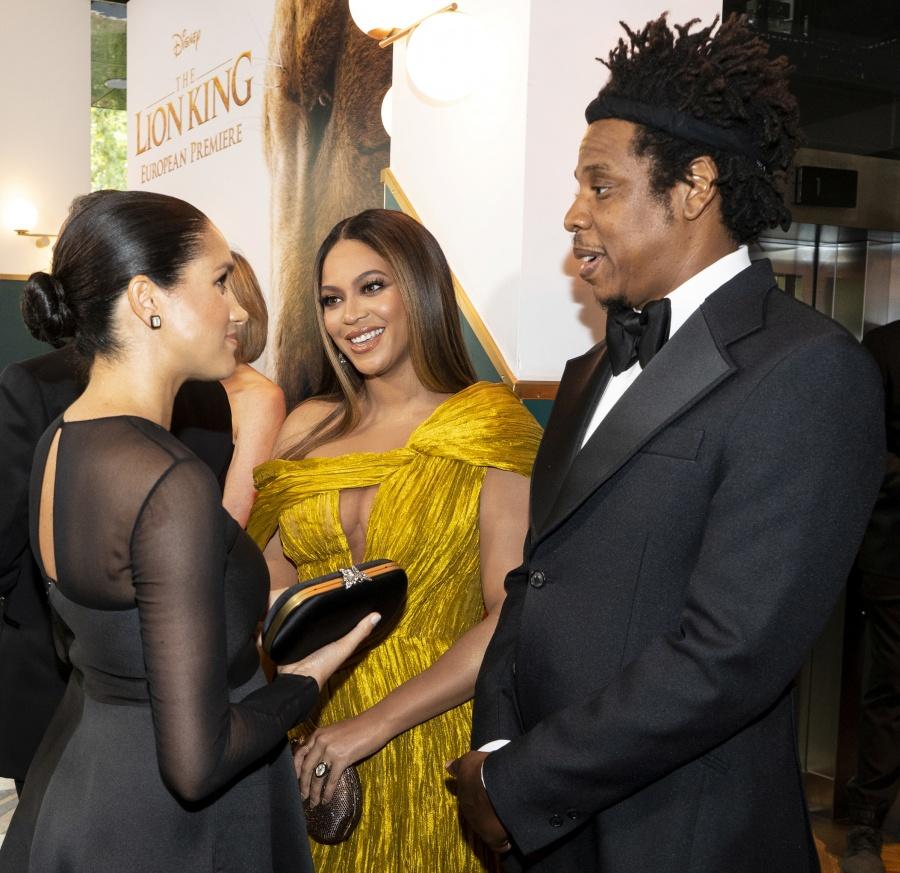 ¿De qué hablaron Beyoncé y Meghan Markle?