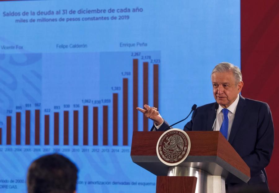 Reitera López Obrador desconfianza en calificadoras