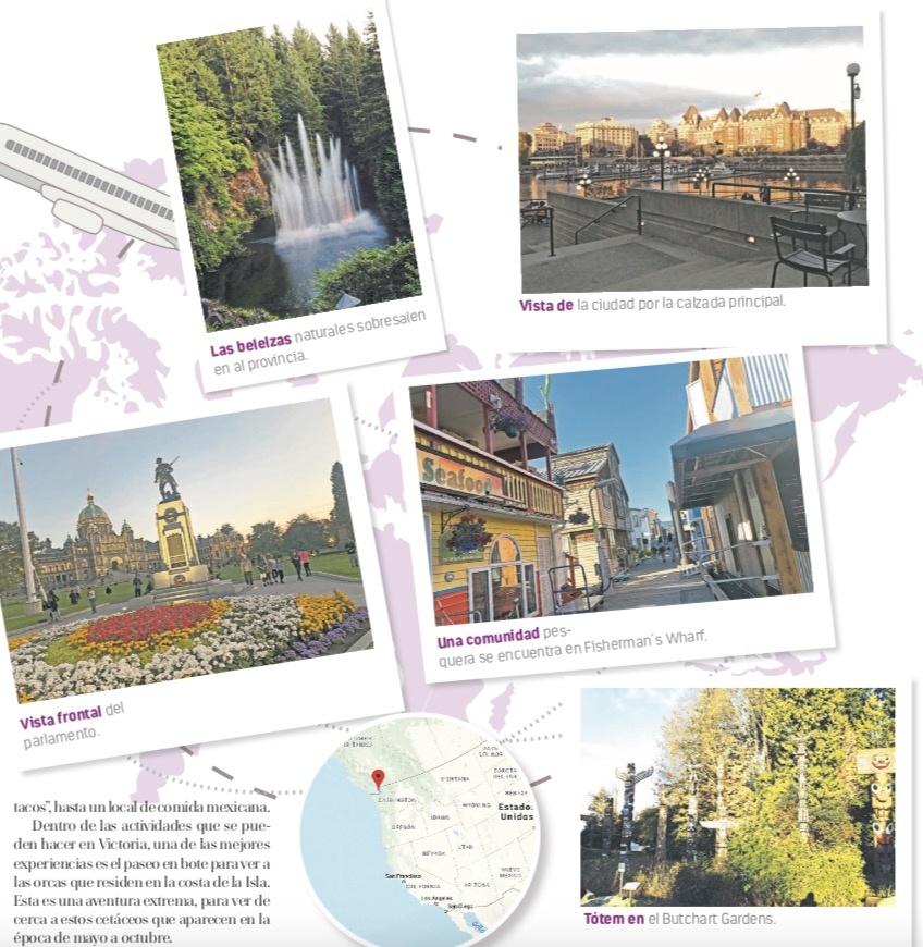 Victoria, la ciudad canadiense que aloja joyas del barroco