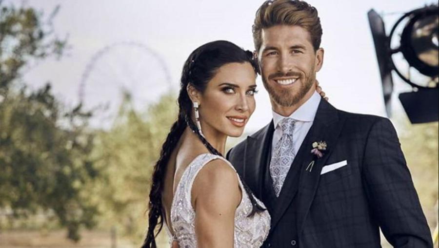 Sergio Ramos y Pilar Rubio intercambian románticos mensajes para celebrar su primer mes de casados