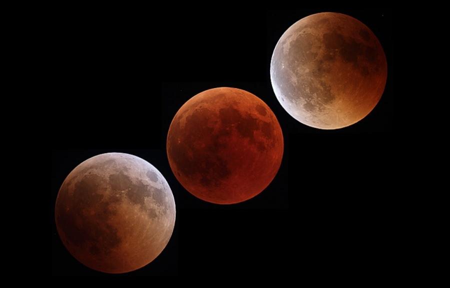 Dónde y a qué hora se podrá ver el eclipse parcial de luna este martes