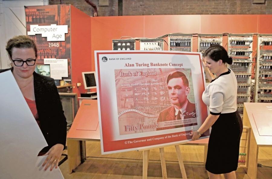 El Matemático Turing es la nueva imagen en el billete de 50 libras