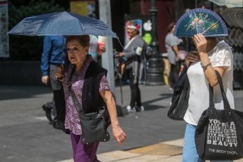 Persistirán altas temperaturas en gran parte del país
