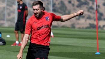 Héctor Herrera se luce con golazo en entrenamiento del Atlético de Madrid
