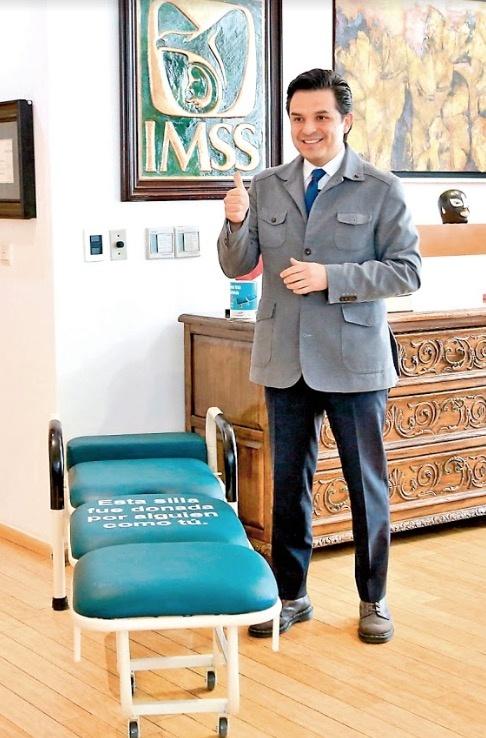 Logra IMSS recaudar recursos para 71 sillas-camas en sólo dos días