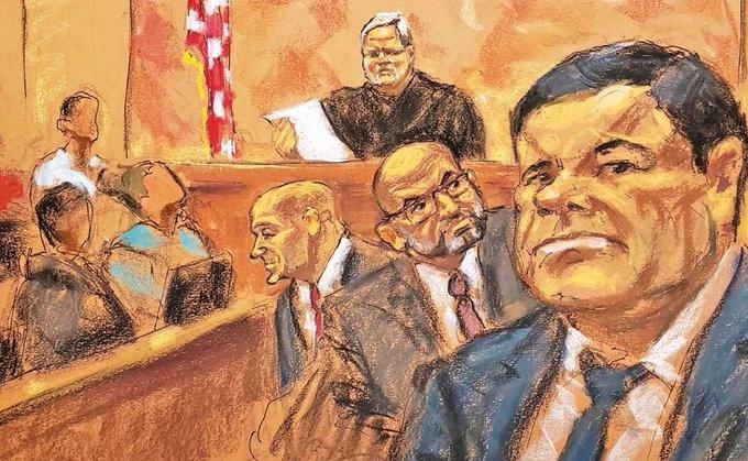 El Chapo, condenado a cadena perpetua