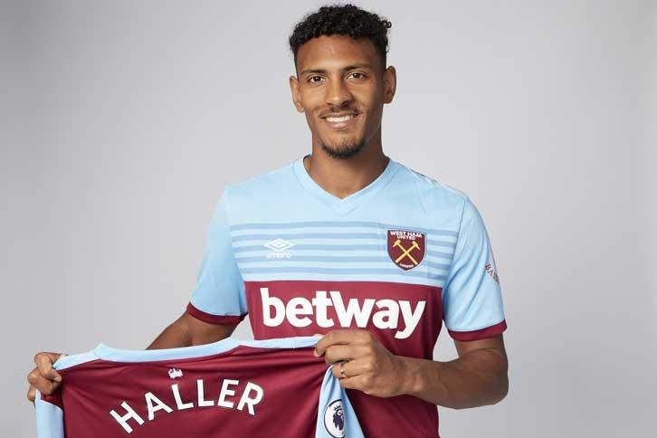 West Ham incorpora a Haller en fichaje más caro de su historia