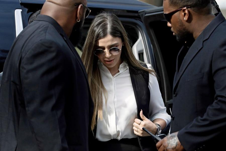 """Emma Coronel e hija de """"El Chapo"""" presentes en la corte de NY"""