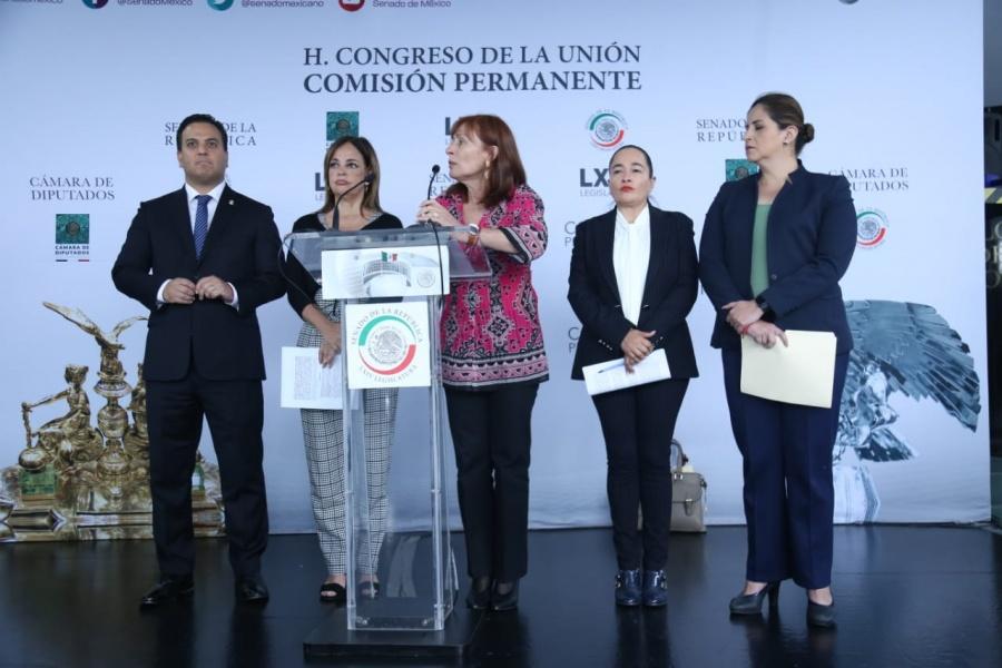 Presentan Punto de Acuerdo Morena, MC, PAN y, PRD para evitar que aplique reforma que incrementa mandato de Jaime Bonilla